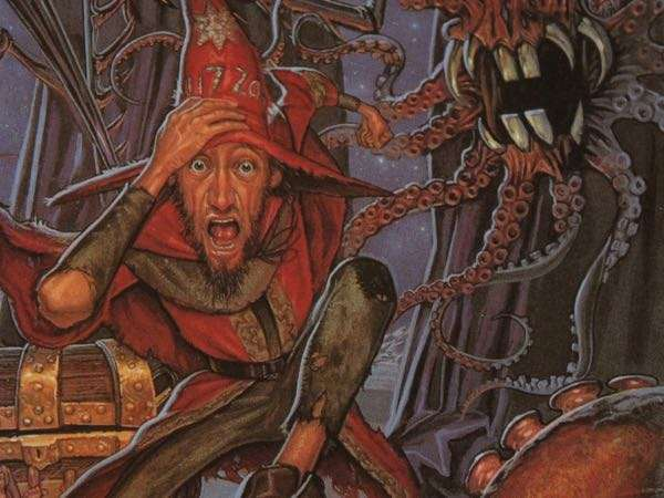 Rincewind chased