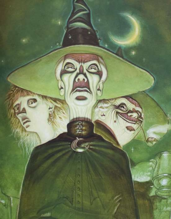 Once Upon a Time...The Stories of Witches Abroad